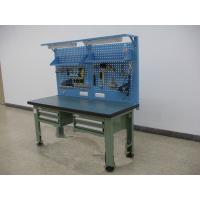 Wholesale Multi Functional Stainless Steel Workbench , Powder Coated Mental Workbench from china suppliers