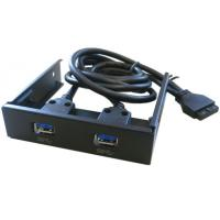 Wholesale Front Panel Bay USB3.0 Internal Adaptor, Internal USB 3.0 2port Front Panel with 20-pin from china suppliers