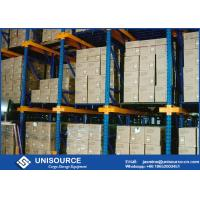Wholesale Double Entry LIFO Drive In Pallet Racking 400 - 1500mm Depth Easy Assembly from china suppliers
