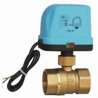 Wholesale Electric Motorized Tee Valve, Used on Control of HAVC, Long Service Lifespan from china suppliers
