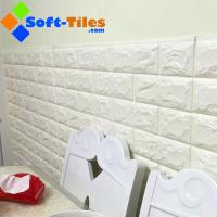 Wholesale 3D PE Foam Wallpaper Decor Natural Eco many bright colour available widely used in living room,wall, KTV etc from china suppliers