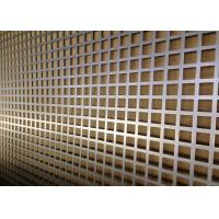 Quality Economical Customizable Square Perforated Metal Large Open Area For Guards And Grilles for sale