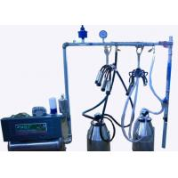 Wholesale Fully Refurbished Stainless Steel Bucket Milking Machine with Polished Pulsator from china suppliers