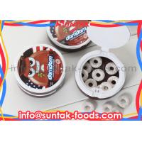 Wholesale Colorful Chocolate Mint Candy , Cool Fresh Peppermint Bark Candy from china suppliers