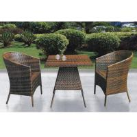 Wholesale China outdoor wicker table chair set from china suppliers