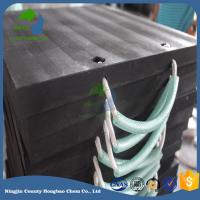 Wholesale Heavy Duty Easy Carring UHMWPE Crane Outrigger Pad Stabiliser Plate Jack Mats from china suppliers