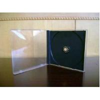 China 10.4mm Single CD Jewel Case with Black Tray Assembled on sale
