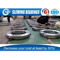 Wholesale Light Weight Slew Ring Gears , External Gear Large Diameter Bearings from china suppliers