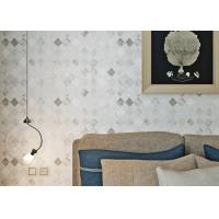 Wholesale Non-woven White Color Modern Removable Wallpaper For the Beddingroom from china suppliers