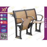 Wholesale Gravity Return Finished Black Epoxy Powder Lecture Hall Seats With Writing Board from china suppliers