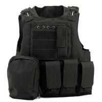 Wholesale Police Tactical Vest Molle Gear Swat Black Tactical Vest For Hunting from china suppliers