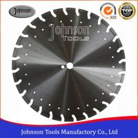 Wholesale Professional Asphalt Saw Blades / Asphalt Cutter Wheel With Decoration Holes from china suppliers