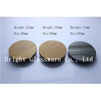 Wholesale High Quality Wood Lids for Candle Jars from china suppliers