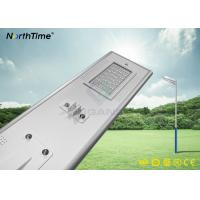 Wholesale Phone APP LED Solar Street Lights with PIR Motion Sensor MPPT Controller Bridgelux Led from china suppliers