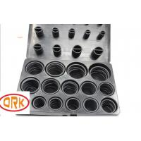 Wholesale High Flexible Black Metric O Ring Kits , Automotive O Ring NBR 70 As568 from china suppliers