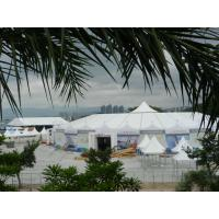 Wholesale Outdoor White Luxury Romantic Marquee Wedding Tent With Double PVC Opaque Cloths from china suppliers