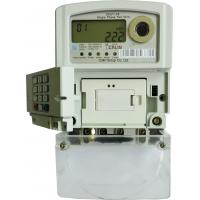 Wholesale Remote Control STS Prepaid Meters 3X240V Single Phase Watt Hour Meter Back - End from china suppliers
