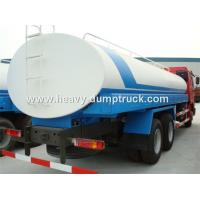 Wholesale 20 CBM Water Tank Truck With Dual Circuit Compressed Air Brake System from china suppliers