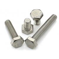 China 10mm Stainaless Steel Hex Head Bolts , Security Allen BoltsFull Thread Grade10.9 on sale