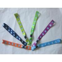 Wholesale Heat Transfer Event/Festival  Fabric Polyester Wristband from china suppliers
