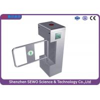 Wholesale Double Lane Semi - automatic Swing Gate Turnstile , stainless steel turnstiles from china suppliers