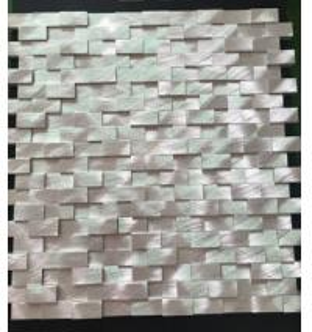 Buy cheap aluminium profile mosaic tiles from wholesalers