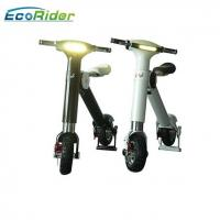 Wholesale Aluminium Alloy 48v Electric Foldable Bike , Folding Electric Bike Lg / Samsung Battery from china suppliers
