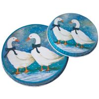 Wholesale Personalized  Metal Burner Cover With Round Shape, 2pcs With Different Size For Each Set from china suppliers