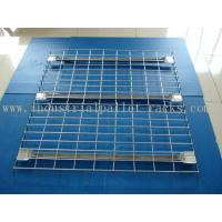 Wholesale Flared Steel Wire Mesh Decks Industrial Pallet Racks Heavy Duty Capacity 2000 LBS from china suppliers
