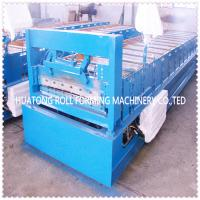Wholesale Hydraulic Cold Plate Roof Panel Roll Forming Machine With Color Steel from china suppliers