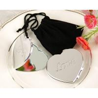 "Wholesale ""Love"" Heart-Shaped Compact Mirror from china suppliers"