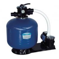 Wholesale Swimming Pool Top Mount Plastic Body + Fiberglass Outer Sand Filters + Pump Set from china suppliers