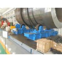 Wholesale Lead Screw Adjustable Pipe Supports , Rubber Material Roller Pipe Stands Welding Rollers from china suppliers