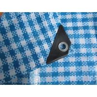 Wholesale 150g check tarpaulin,woven fabric package material from china suppliers