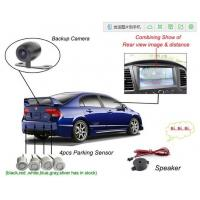 Wholesale 12V Reversing Camera Auto Electromagnetic Parking Sensors System DVD show rearview media from china suppliers