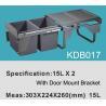 Buy cheap Table Bin|Table Dustbin|Table Can|Waste Bin|Cabinet Bin KDB017 from wholesalers