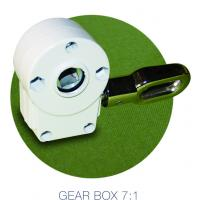 Quality namual awning gear box&steel manual awning crank or shutter blinds or roller blinds of crank for sale