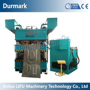 Wholesale China Manufacturer DHP-6000T steel door embossing machine,metal door embossing from china suppliers