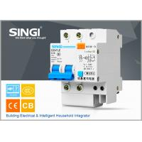 Buy cheap Singi DZ47LE-63 Moulded case circuit breakers , Miniature rccb circuit breaker from wholesalers