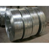 Wholesale Regular Spangle Hot Dipped Galvanized Steel Strip , Galvanized Metal Strips For Profiles from china suppliers