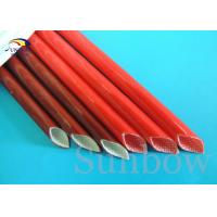 Wholesale Brown Color 12mm Electrical Wire Fiberglass Insulation Sleeving from china suppliers