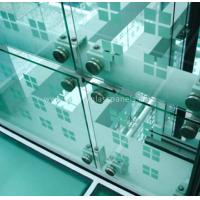 Wholesale Low Iron Custom Tempered Glass Panels , Laminated Glass Film Safety from china suppliers