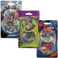 Wholesale Funny Plastic Spinning Top Toys , Teenage Mutant Ninja Turtles from china suppliers