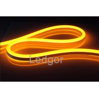 Quality 12V 24v 110v 220v UV proof waterproof Yellow Led Neon Flex Rope for sale