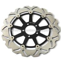 Wholesale ZX7R NINJA Motorcycle Brake Disc Brakes And Rotors Kawasaki ZX9R ZZR 1100 CNC Anodized from china suppliers