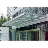Buy cheap 4.38mm - 30mm Laminated Tempered Glass For Canopy With Ce & Iso Certificate from wholesalers