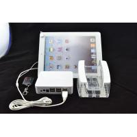 Wholesale COMER acrylic table display stand, acrylic tablet stand with alarm controller system from china suppliers
