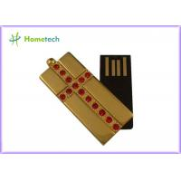Wholesale Metal Jewelry Metal Twist USB Sticks , Memory Stick Thumb Drive from china suppliers