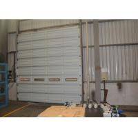 Wholesale High strength industrial factory use steel sectional doors with steel single panel from china suppliers