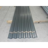 Wholesale Eco friendly Dark Grey Prepainted Corrugated Metal Wall Panels or  Zincalume Sheet from china suppliers